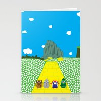 Pengwins That Are Follow… Stationery Cards