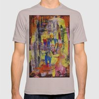 RICHTER SCALE 1 Mens Fitted Tee Cinder SMALL
