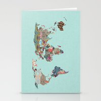 Louis Armstrong Told Us So (teal) Stationery Cards