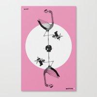 Miami (Skull) Machine Canvas Print