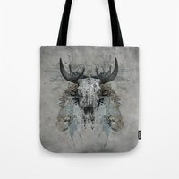 Something Is Squeezing M… Tote Bag