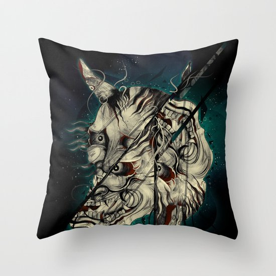 The Hanyas Throw Pillow