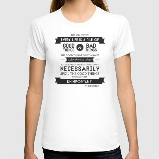 Good Things & Bad Things T-shirt