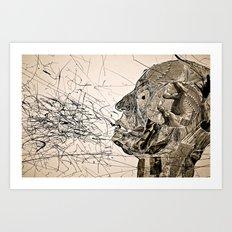 Penser : Expression. Art Print