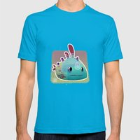 Exotic Fish Mens Fitted Tee Teal SMALL