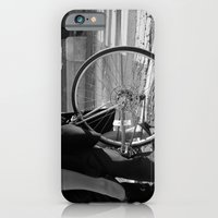 iPhone & iPod Case featuring Biker Love by sequinsandpearls