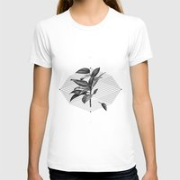 Still Life No.1 Womens Fitted Tee White SMALL
