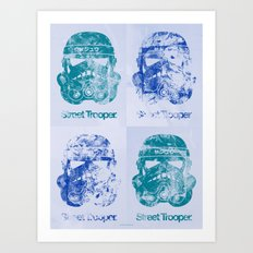 BEAST Street Trooper - Fab Four Art Print