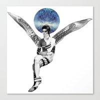 DAVID BOWIE ANGEL Canvas Print