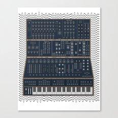 Modular Synth Canvas Print