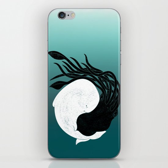 Sea Frenemies iPhone & iPod Skin