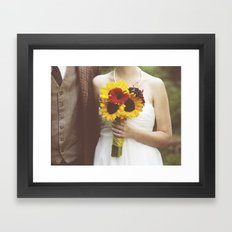 Man & Wife Framed Art Print
