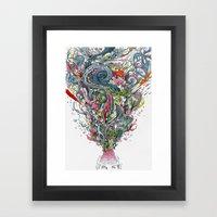 Grigri Framed Art Print