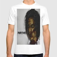 Zombie!!  Mens Fitted Tee White SMALL