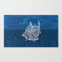 Hogwarts series (year 6: the Half-Blood Prince) Canvas Print