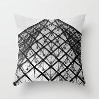 Louvre Throw Pillow