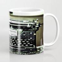 You don't write anymore... Mug