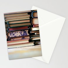 vintage pages Stationery Cards