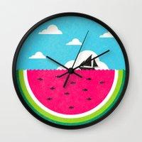 Watemelon Deep Wall Clock