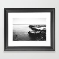 Water Moss Framed Art Print