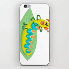 Poisonous Caterpillars iPhone & iPod Skin
