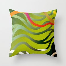 Eau Throw Pillow