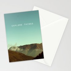 explore things Stationery Cards