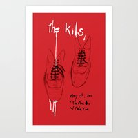 The Kills Art Print