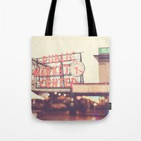 6:20. Seattle Pike Place… Tote Bag