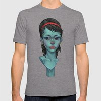 Kitsch Mens Fitted Tee Tri-Grey SMALL