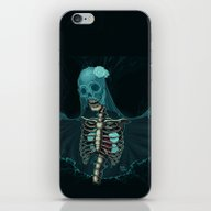 Skeleton With Veil And W… iPhone & iPod Skin