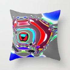 Bent Spots 4 B Throw Pillow