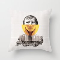 Goodbye My Lover Throw Pillow
