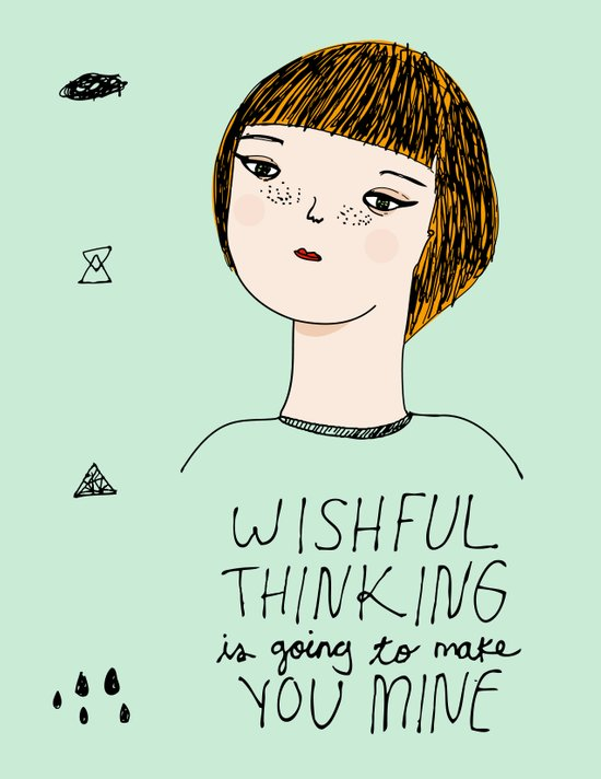 Wishful Thinking... Art Print