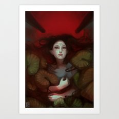 Dragon Age: Blood Lotus Art Print