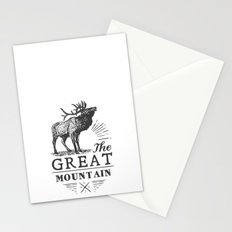 american deer Stationery Cards