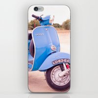 Mod Style in Blue iPhone & iPod Skin