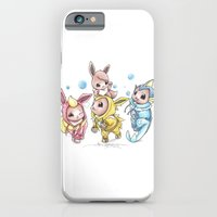 iPhone Cases featuring Bursting Bubbles by Randy C