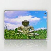 Buddha Takes The Field Laptop & iPad Skin