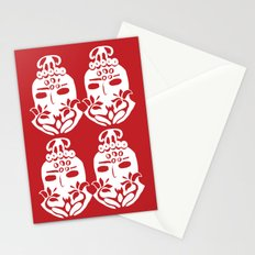 oval Stationery Cards