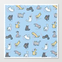 Cats Vs Laserpointers Canvas Print