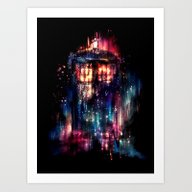 Art Print featuring All Of Time And Space by Alice X. Zhang