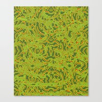 Sixties Swirl Canvas Print