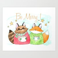 Be Merry! Coffee, Cocoa,… Art Print