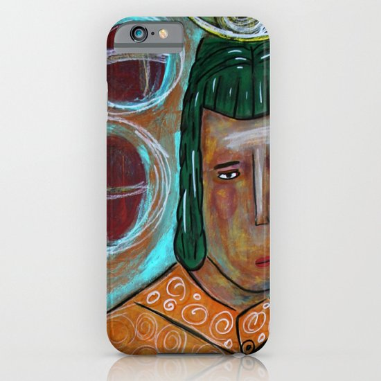 Contemplation iPhone & iPod Case