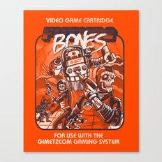 Future Bones Canvas Print