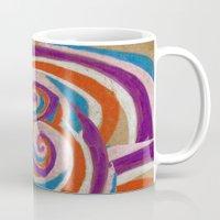 snoozy spiral Mug