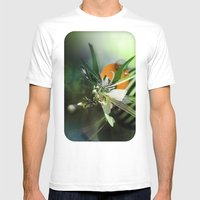 Angel Mens Fitted Tee White SMALL