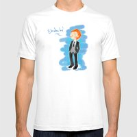 Tom Hiddleston - Ehehehe… Mens Fitted Tee White SMALL