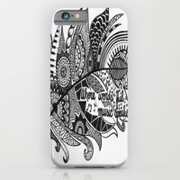 Zentangle Feather iPhone 6 Slim Case